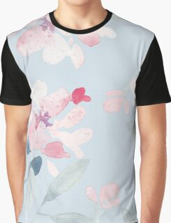 Patterns Everyday | Summer Flowers Graphic T-Shirt