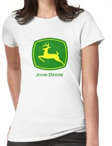 John Deere Womens Fitted T-Shirt