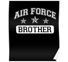 Air Force Brother T-Shirt Poster