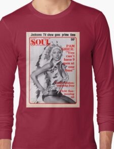 Soul Cover Oct '76 Long Sleeve T-Shirt