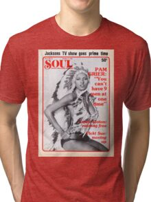 Soul Cover Oct '76 Tri-blend T-Shirt