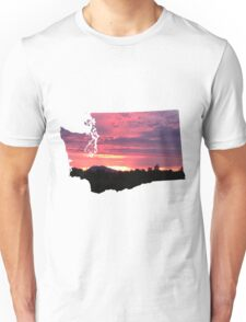 Washington Sunset Unisex T-Shirt