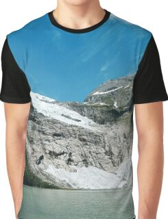 Glacier in Norway Graphic T-Shirt