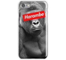 Harambe x Box Logo iPhone Case/Skin