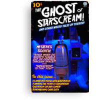 Pulp Starscream Canvas Print