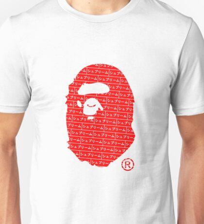 Bape x Japanese Box Logo Unisex T-Shirt