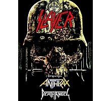 Kar01 SLAYER With ANTHRAX & Death Angel Tour 2016 Photographic Print