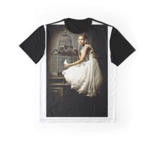 WHITE DOVE Graphic T-Shirt