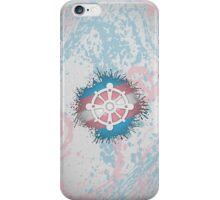 Transgender Pride Wheel of Dharma iPhone Case/Skin