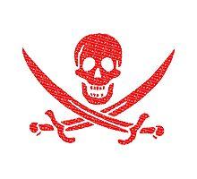 Pirate x Japanese Box Logo Photographic Print