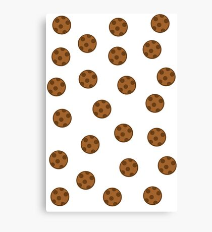 The rain of cookies! Canvas Print