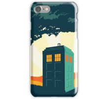 Tardis Travel iPhone Case/Skin