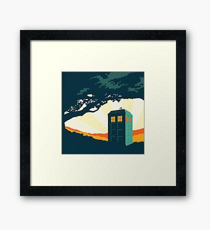 Tardis Travel Framed Print