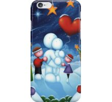Our love is frozen in time iPhone Case/Skin