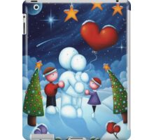 Our love is frozen in time iPad Case/Skin