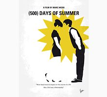 No500 My 500 Days Of Summer minimal movie poster Unisex T-Shirt