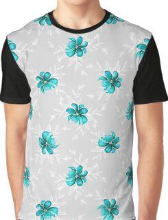 FlowersPattern Graphic T-Shirt