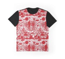 chinese paper cutting design Graphic T-Shirt