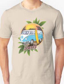 Volkswagen Camper - Surf Beach Party Unisex T-Shirt