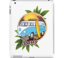 Volkswagen Camper - Surf Beach Party iPad Case/Skin