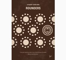 No503 My Rounders minimal movie poster Unisex T-Shirt