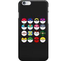 Pokeballs! iPhone Case/Skin