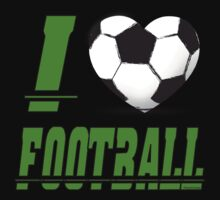 I love football One Piece - Short Sleeve