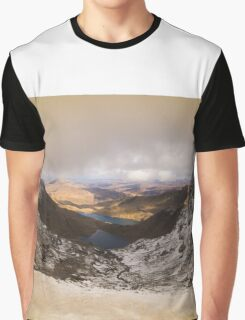 From The Top Of The Mountain Graphic T-Shirt