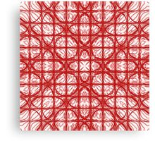 New Dimenson Red  Canvas Print