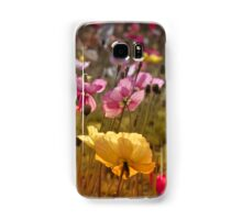 Poppies in the Field Samsung Galaxy Case/Skin