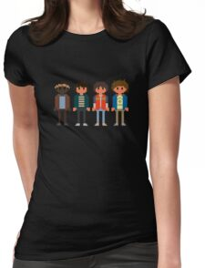Boys of Stranger Things Womens Fitted T-Shirt