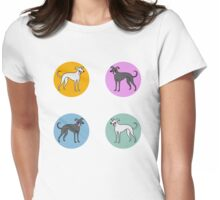 Dotty Hounds Womens Fitted T-Shirt