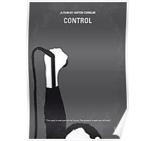 No508 My CONTROLE minimal movie poster Poster