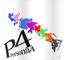 Persona 4 Colorful Cast Poster