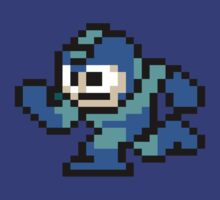 Classic Megaman by GreenTheRival