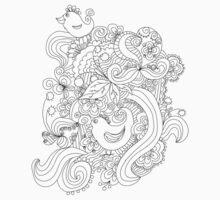 ornamental pattern Kids Tee