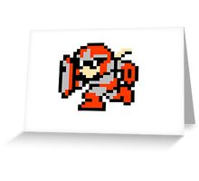 Classic Protoman Greeting Card
