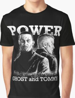 Power TV - Ghost and Tommy Graphic T-Shirt