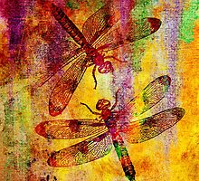 Mauritius Vintage Dragonflies by Vitta