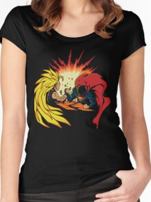 DRAGON BALL Z - ANIME - MANGA - GAMES Women's Fitted Scoop T-Shirt