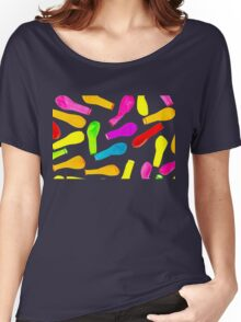 Cool Funny Deflated Colorful Balloons  Women's Relaxed Fit T-Shirt