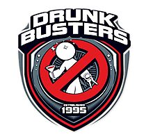 Drunk Buster  Photographic Print