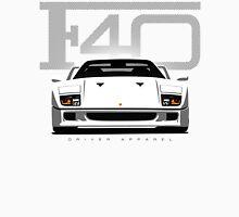 F40 Ferrari White Unisex T-Shirt