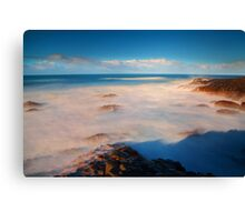 Surf at the Giants Causeway Canvas Print