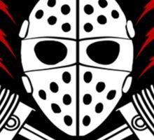 Mask Gasoline  Sticker