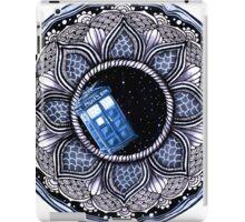 Tardis in space mandala iPad Case/Skin