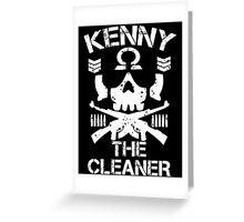 kenny 0mega Greeting Card