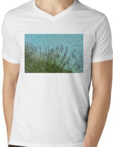 Summer Aromatherapy at the Fragrant Edge of the Swimming Pool Mens V-Neck T-Shirt