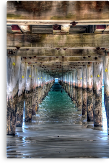 Under The Pier by Clive S