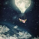 The Moon Carries Me Away by Paula Belle Flores